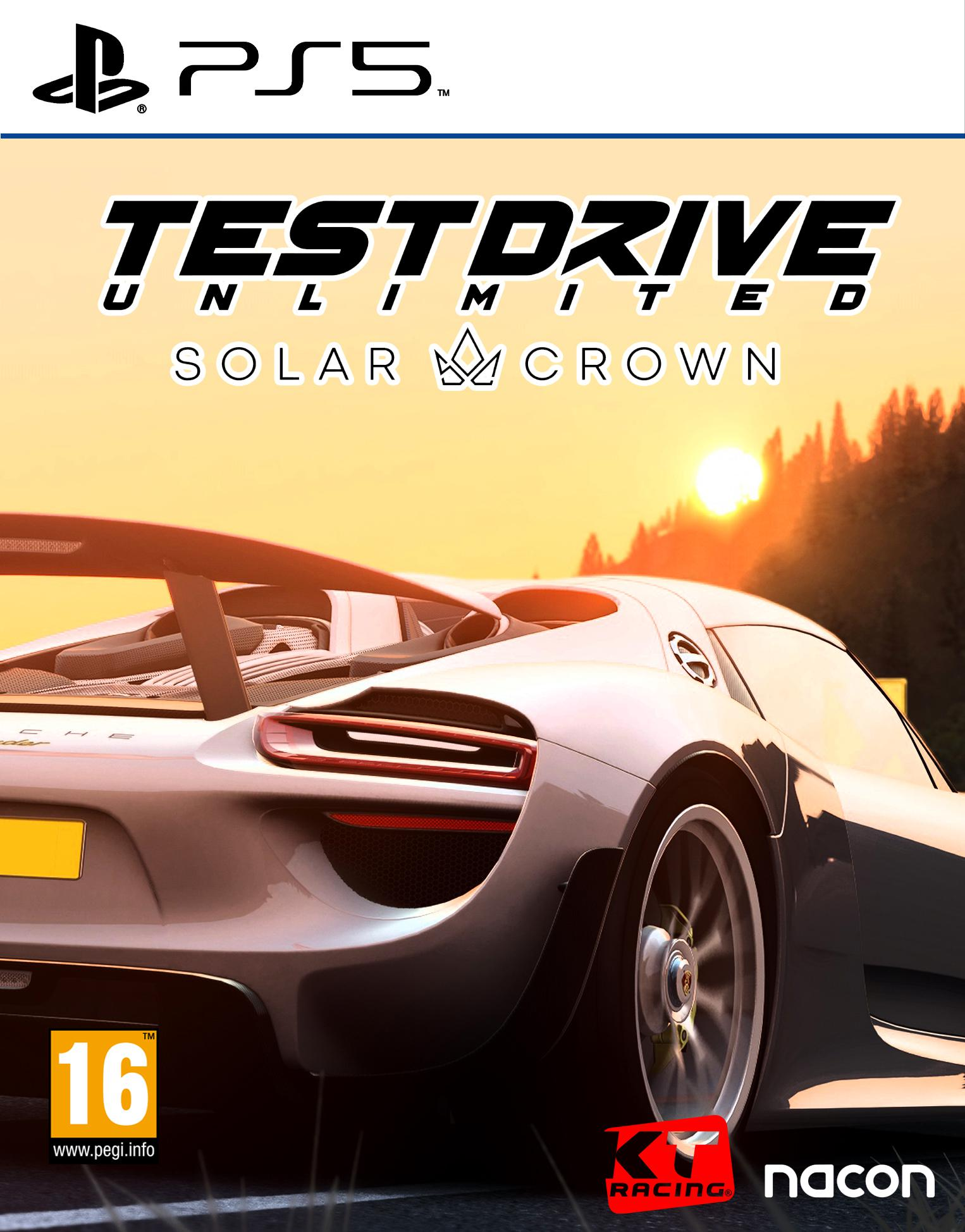 Test Drive Unlimited 3 Solar Crown Cover